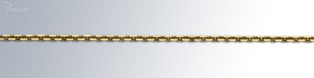Strieborná retiazka pre športovcov žltá - ANKER 50 FZ 83e52fd7fab